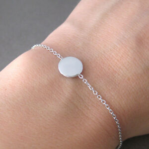 Bracelet-pastille-ronde-sur-chaine-forcat-en-argent-925-1000-BR132
