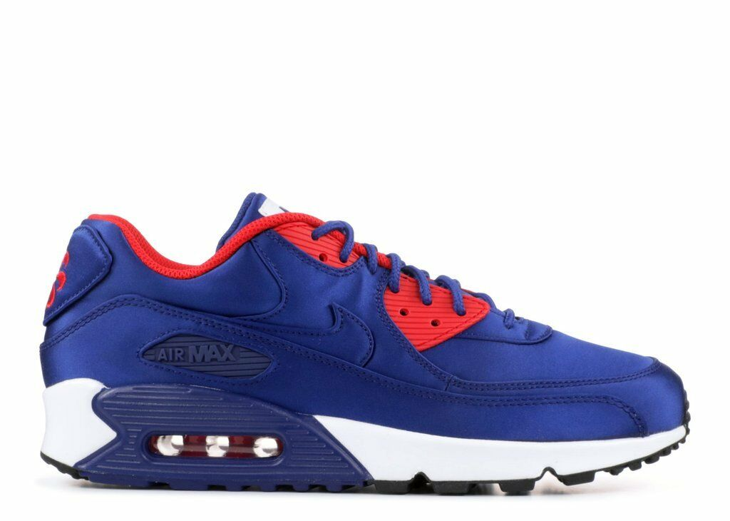 2018 Nike Air Max 90 SE SZ 8 Deep Royal bluee AO1063-400