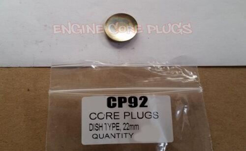22 Mm Plat Type Core PlugFreeze PlugExpansionGelWelch Plug