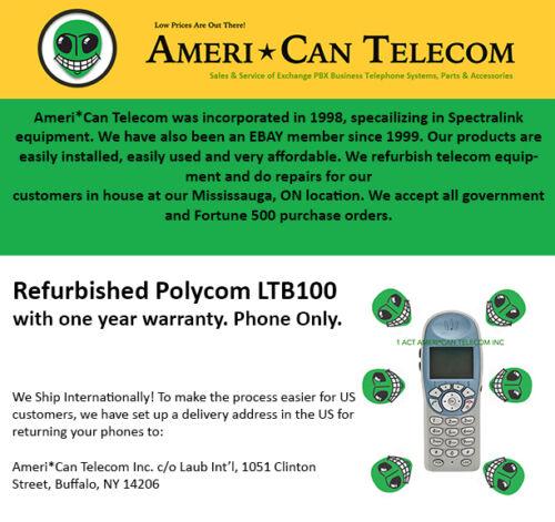 Polycom Refurbished LTB100// 6020 Phone