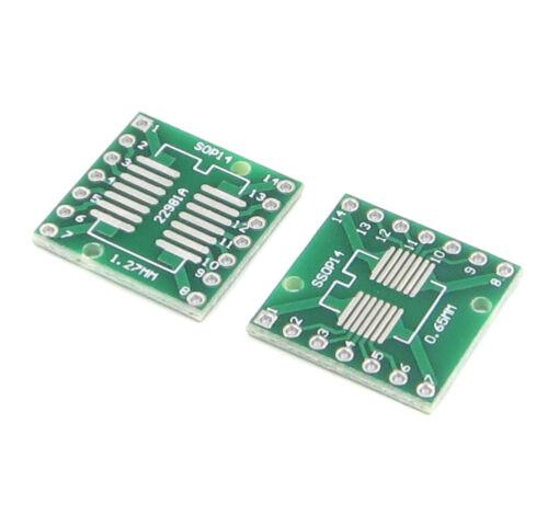 20PCS SOP14 SSOP14 TSSOP14 DIP 0.65//1.27 Adaptor PCB Tafel AIP