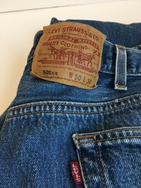 levis 501xx made in usa - image 2