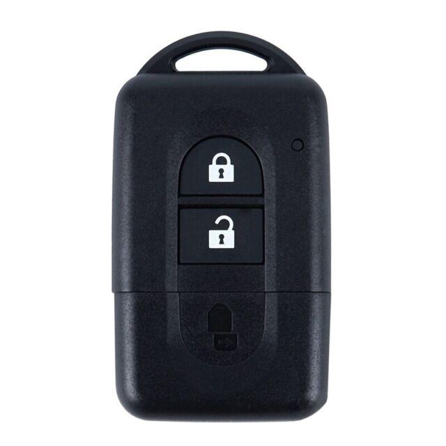 2 Button Remote Key FOB Case For NISSAN MICRA X-TRAIL QASHQAI JUKE DUKE NAV B4I5