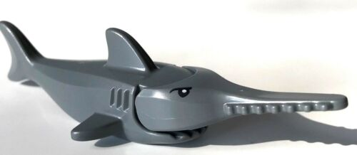 NEUWARE K131 LEGO ® 3 x Sägefisch 3x Sawfish 3 dunkelgraue Sägefische