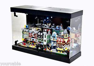 MB-2 MB Display Box Acrylic Case LED Light House for LEGO mini ... 1e1476dff