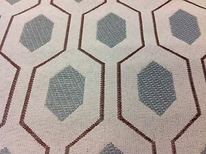 Kravet Modern Geometric Upholstery Fabric Euclid Mineral 30767