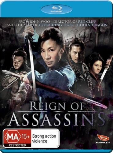 1 of 1 -  Reign of Assassins Blu-ray Discs BRAND NEW SEALED Free Post!