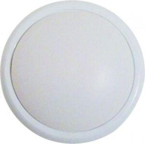 Lampara-de-techo-bano-LED-pasillo-Blanco-Cristal-15w