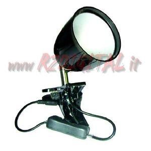 Lampada faretto spot led 3w da tavolo con pinza clip - Lampada da tavolo con pinza ...