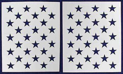 G-Spec 10.5 x 14.82 American Flag 50 Star Field Stencil
