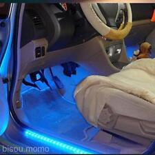 Hot 24cm DC 12V 24 Beads Blue LED Light Lamp Strip Inside Outside Car Auto Decor