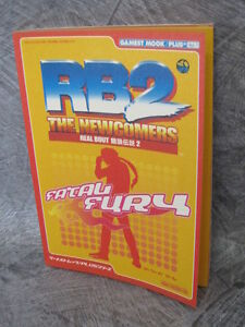 REAL-BOUT-FATAL-FURY-2-RB2-Newcomers-Guide-Neo-Geo-Book-SI