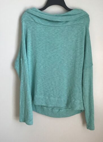 New Caslon Aqua 3-in-1 Cowl Neck Sweater Convertible Choose Your Size