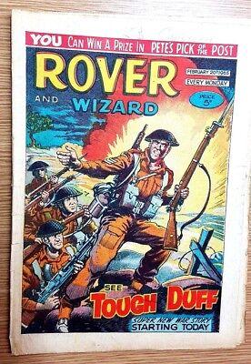 Gewetensvol Rover And Wizard 20th February 1965 Door Wetenschappelijk Proces