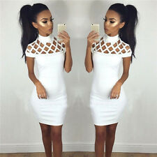 Sexy Women's Bandage Bodycon Sleeveless Evening Party Cocktail Short Mini Dress