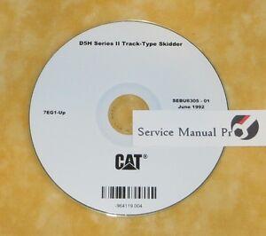 Caterpillar cat d5h & d5h series ii tractor repair service manual.