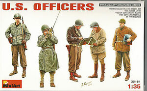 MiniArt WWII US Officers, Figures in 1/35 161  ST  A1