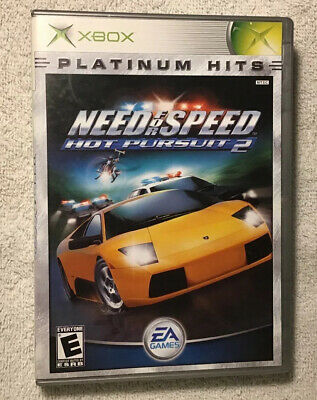 Need For Speed Hot Pursuit 2 Microsoft Xbox 2002 Clean Tested Works Ebay