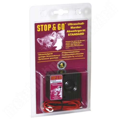 STOP /& GO ultrasuoni Martora Difesa Martora Schreck martora Protezione modulazione FSK
