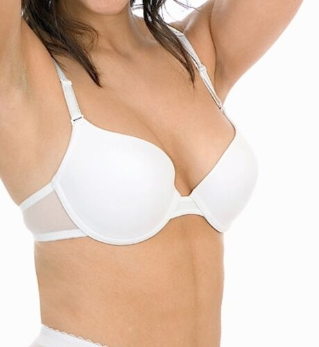 T-Shirt Bra Bras UnderWired Black White Nude Summer 32 34 36 38 40 A B C D DD E