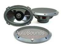 "New Rockford Fosgate Punch P1692 6x9"" 2-Way Car Speakers 6"" x 9"" 300 Watt"