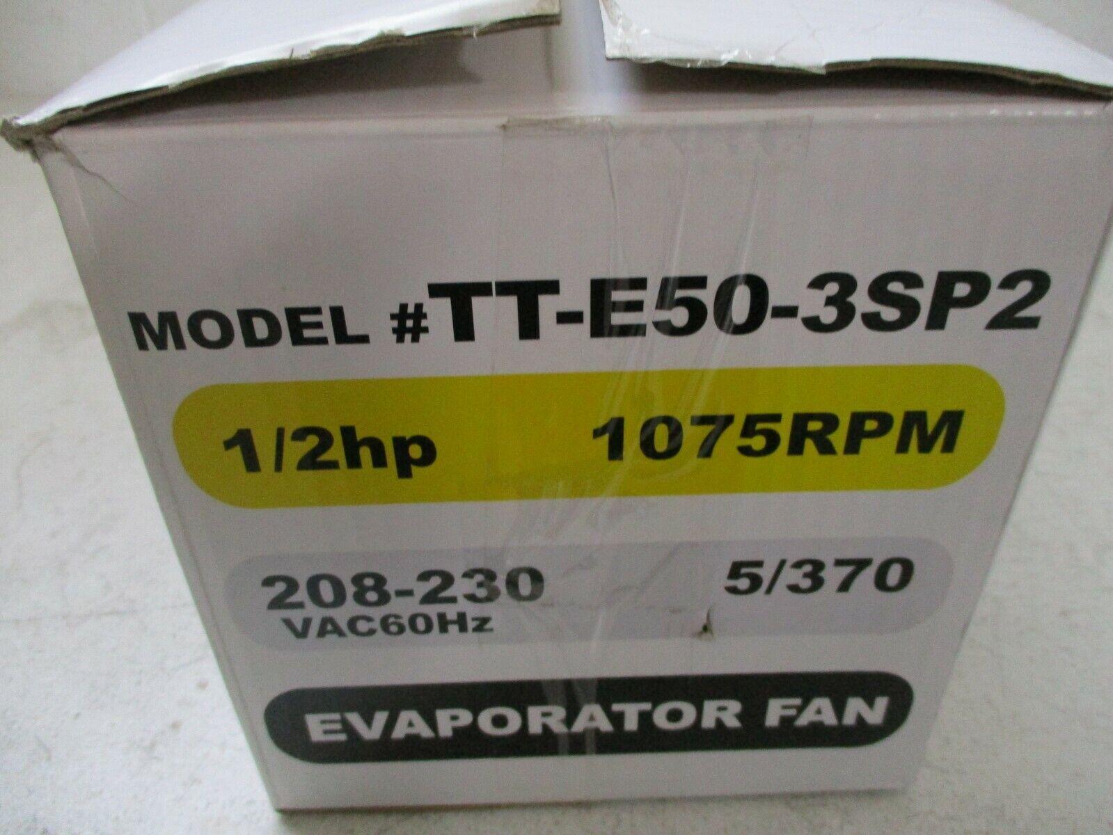 TopTech Replacement 48 Frame Blower Motor 1//2 Hp TT-E50-3SP2 By Packard
