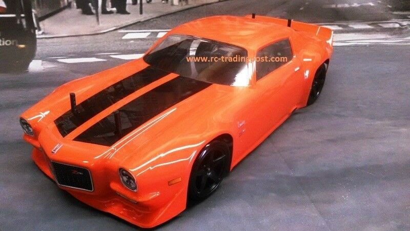 1971 Chevy Camaro Z28 VTA Custom Painted RC Drift Car 4WD RTR Smooth Beltdriven