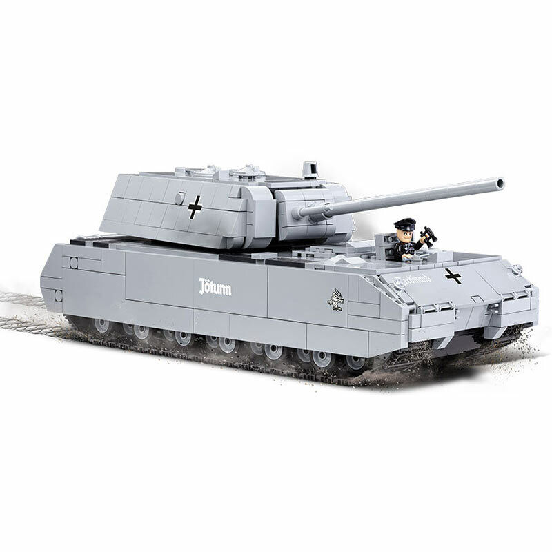 COBI WOT Panzer VIII Maus Tank 3024 890pcs WW2 World of Tanks