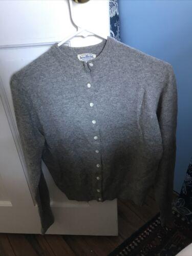1950's Cashmere Cardigan Sweater