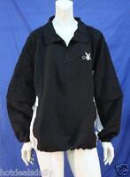 Mens Microfiber Jacket Playboy Golf Pullover Zipper Front Zip Off Sleeves