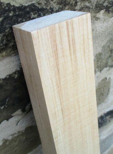 1pc x 48mm spessore x 75mm di larghezza x 1200mm Long-courierpo TIGLIO legno duro Blocco