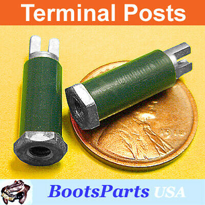 """Threaded for #4 Screw 6 3//4/"""" Insulated Standoff TERMINAL POSTS"""