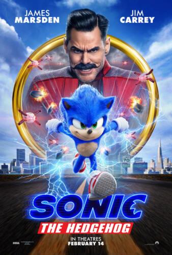 Art Poster Sonic the Hedgehog 2020 Movie New Comic Gift G-689
