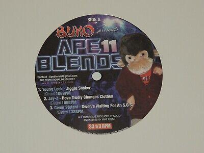Ape Blends Vol 11 Lp Record Young Leek Jay Z Gwen Stefani