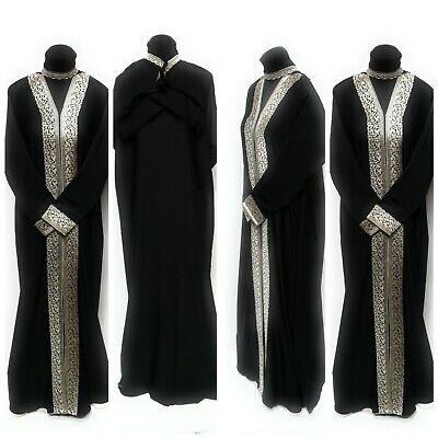 Maxidress 50,52,54,56,58 Jilbab Satin Robe Abaya Burka