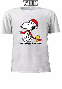 Snoopy-amp-Peanut-Christmas-Xmas-Family-Best-Gift-Men-Women-T-shirt-Unisex-V45