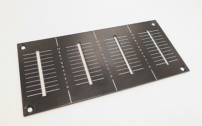 Genuine Pioneer DJM800 Channel Fader Panel Replacement Plate DAH2426