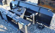 New Jct 72 Snow Plowdozer Blade Skid Steer Loader Tractor Bobcat 6 Way 3 Bolts