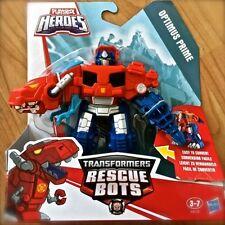 Transformers RESCUE BOTS OPTIMUS PRIME Dinobot PLAYSKOOL HEROES Hasbro Dino TREX