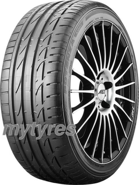 SUMMER TYRE Bridgestone Potenza S001 RFT 245/40 R20 99Y XL * run-flat with MFS