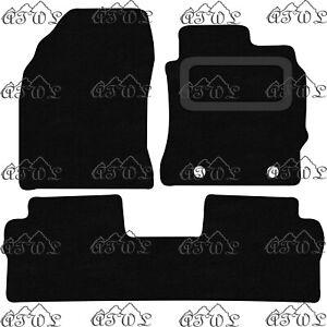TOYOTA AURIS 2013-2019 TAXI VERSION FULLY TAILORED BLACK CARPET FLOOR MATS 3-PCS