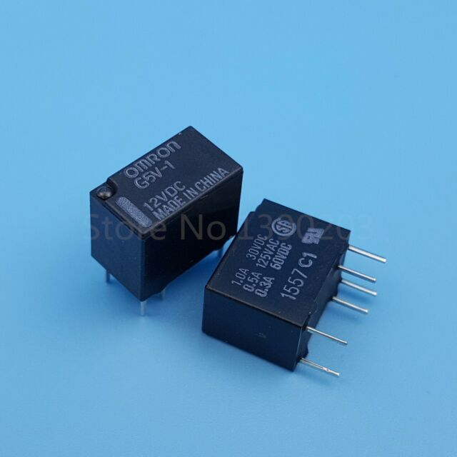 2pcs g5v 1 dc 5v 6pin omron spdt mini single relay for pcb ebay rh ebay com