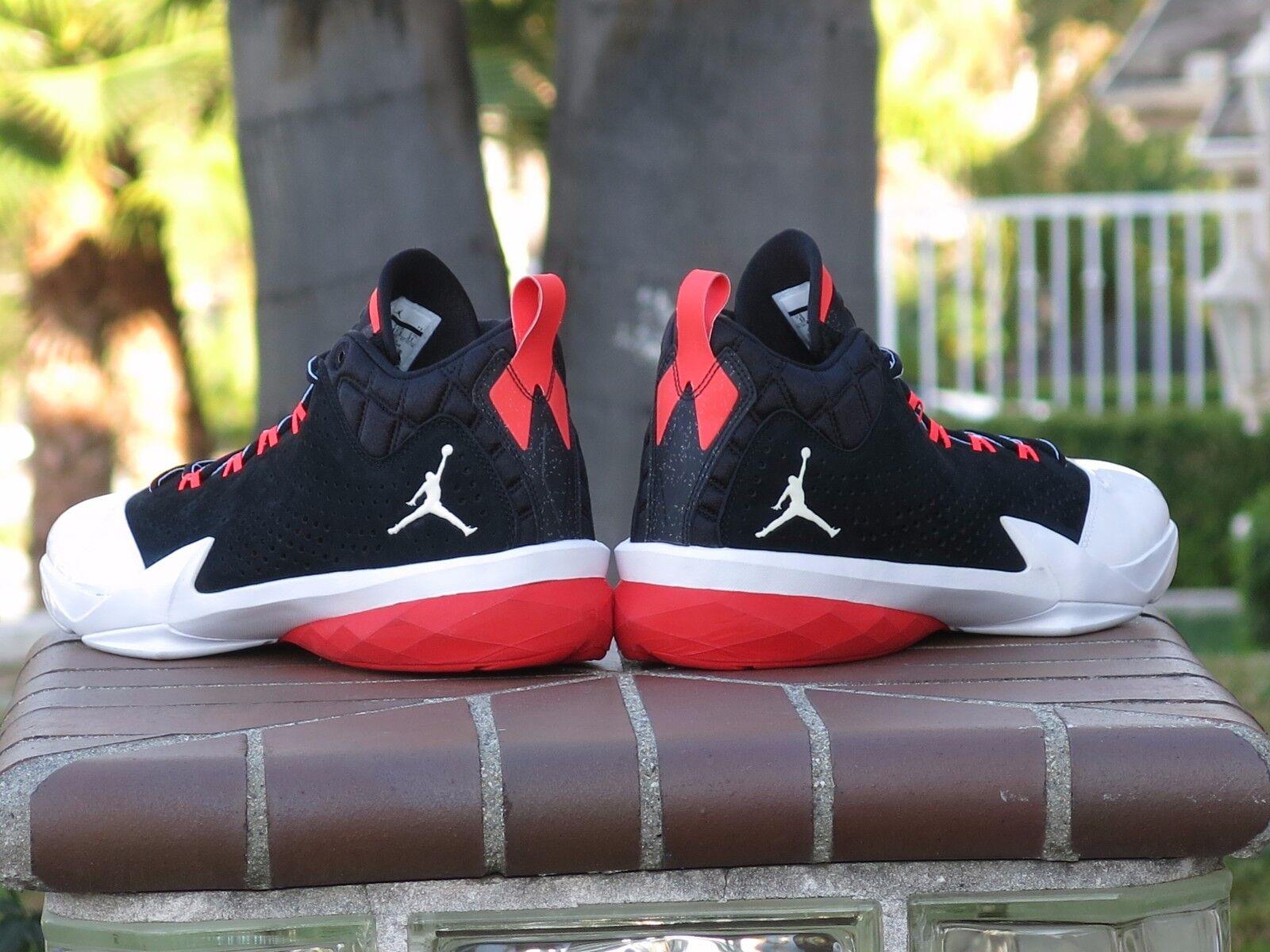 Nike air jordan flugzeit ist ist ist basketball - schuhe 654272-021 sz. 8f7643