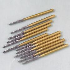 12pcs Dental Surgical Endo Carbide Tungsten Burs Zekrya Fg Bur 25mm Bone Cutters