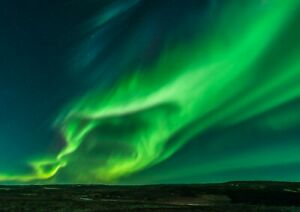A4-Cool-Green-Northern-Lights-Poster-Size-A3-Aurora-Sky-Poster-Gift-14134