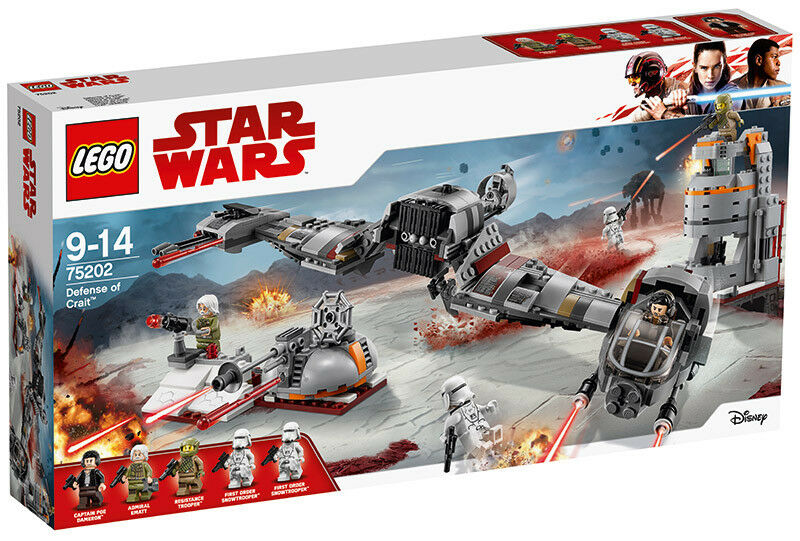 Lego Star Wars  Defense of CRAIT 75202 STAR WARS JOUETS LEGO  produit de qualité d'approvisionnement