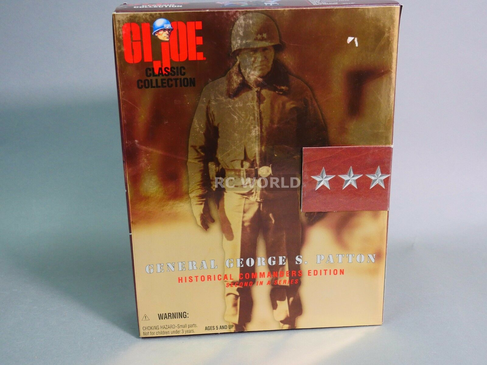 Vintage G.I JOE Classic Collection GENERAL GEORGE PATTON  12