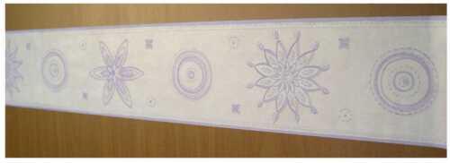 6 Bordüren 6x Bordüre selbstklebend 12,5cmx5m lila 30305