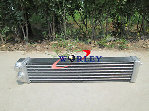 aluminum oil cooler fit for mazda RX2 RX3 RX4 RX7 S1 S2 oilcooler