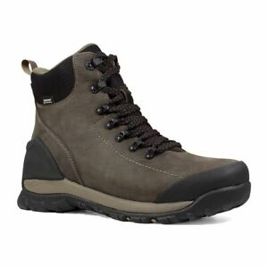 4043905cd92 Details about Bogs Men's Foundation Leather Mid Top Work Boots Brown  72234-200